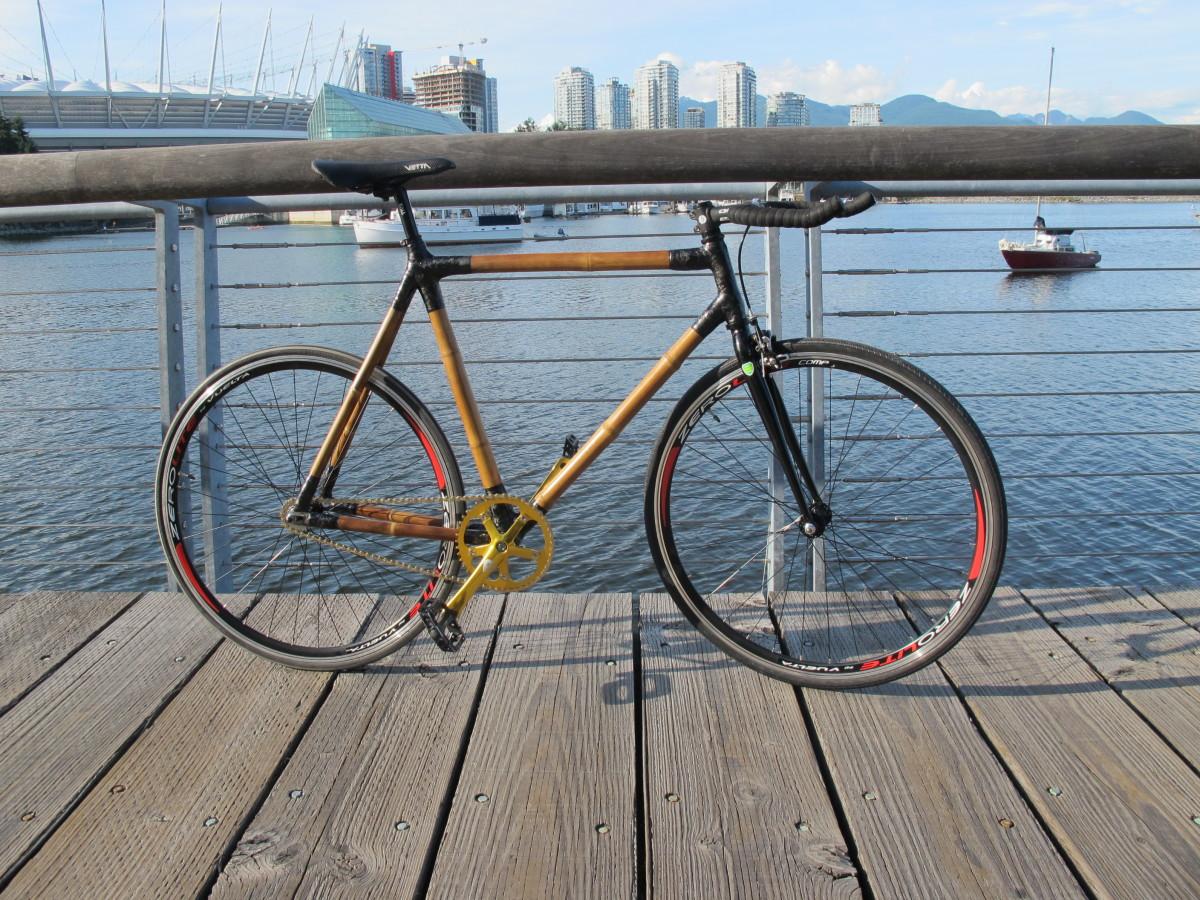 award winning bamboo bike. Black Bedroom Furniture Sets. Home Design Ideas